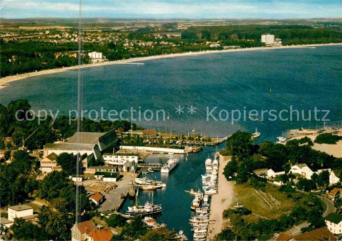 Niendorf Timmendorfer Strand Ostseeheilbad Hafen Fliegeraufnahme Kat. Timmendorfer Strand
