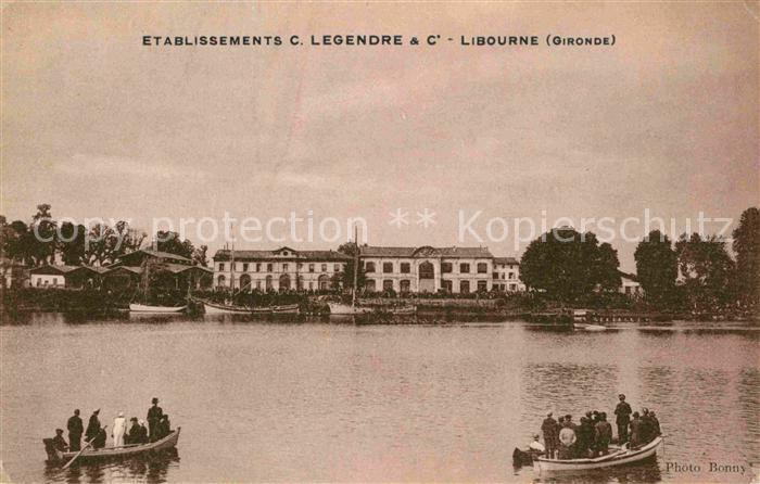 Libourne Etablissements Legendre Kat. Libourne
