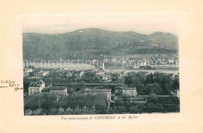 Condrieu Panorama Roches Kat. Condrieu