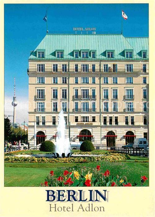 Berlin Hotel Adlon und Fernsehturm Kat. Berlin