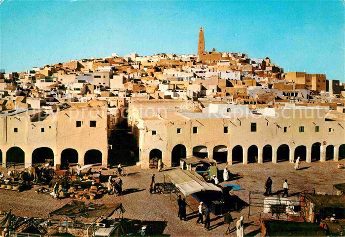 Ghardaia Souk Kat. Algerien