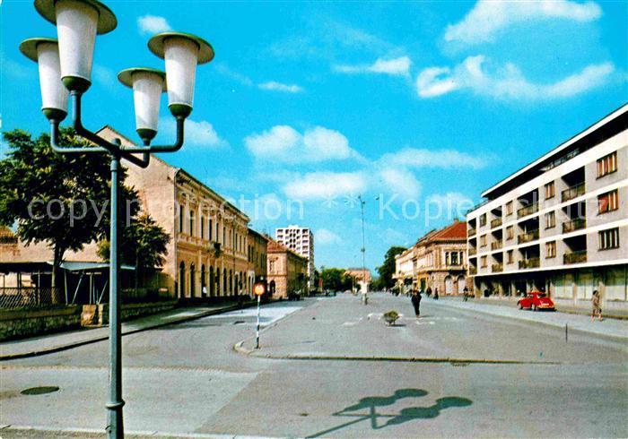 Slavonski Brod Strassenpartie Kat. Slavonski Brod
