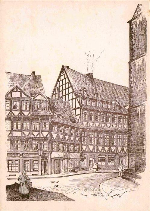 Hannover Fachwerkhaus Kat. Hannover