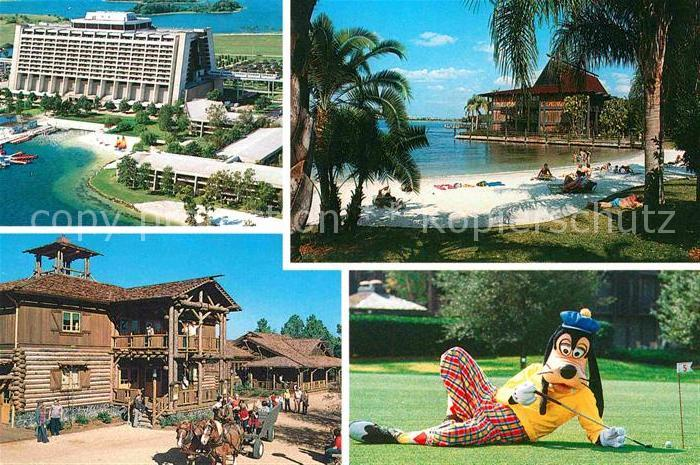 Walt Disney World Fort Wilderness Resort Hotel Polynesian Village  Kat. Lake Buena Vista