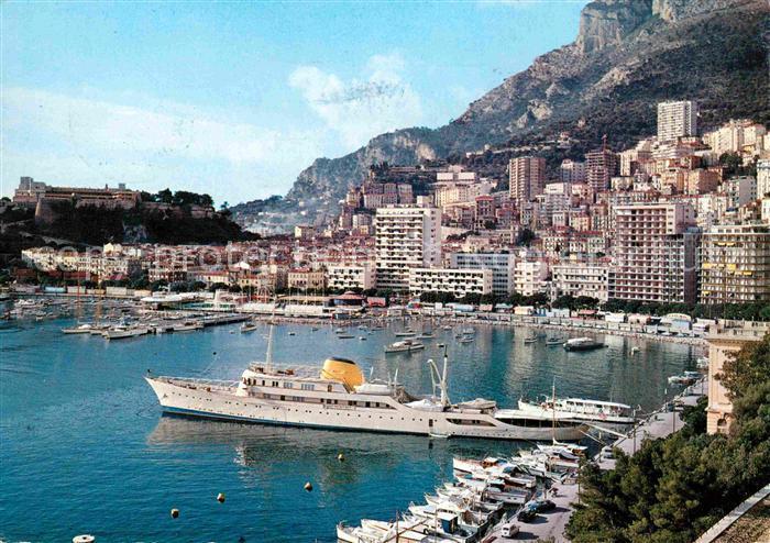 Monte Carlo Vue sur le Port et la Condamine Kat. Monte Carlo