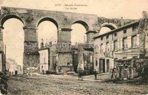 Jouy aux Arches Roemische Wasserleitung Kat. Jouy aux Arches