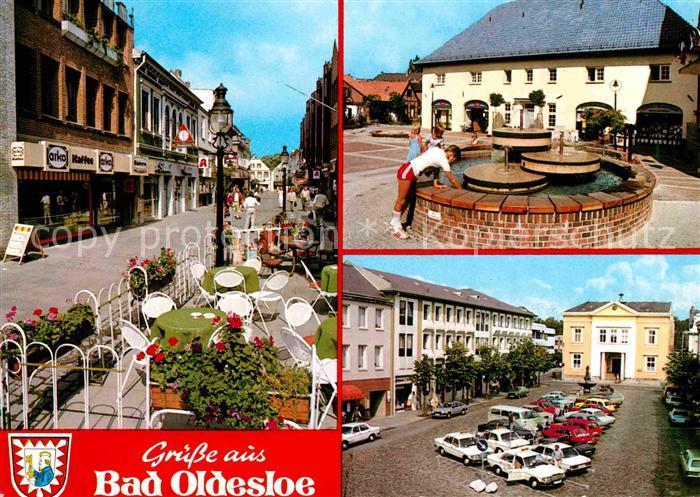Bad Oldesloe Brunnen Cafe  Kat. Bad Oldesloe