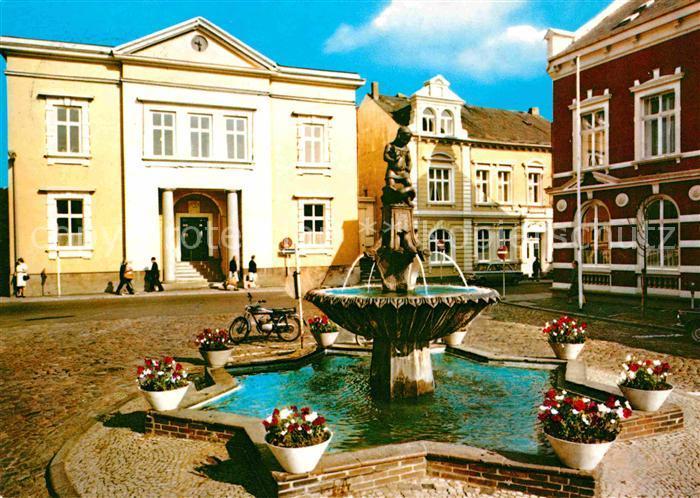 72623580 Bad Oldesloe Markt Brunnen  Bad Oldesloe Bad_Oldesloe