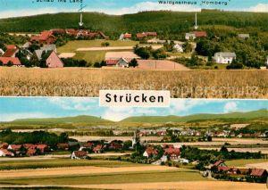 Struecken Blick ins Wesertal Pension Schau ins Land Kat. Rinteln