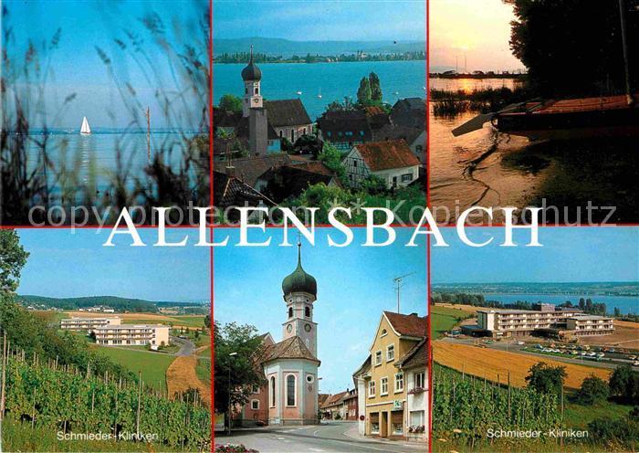 Allensbach Bodensee Schmieder Kliniken  Kat. Allensbach Bodensee