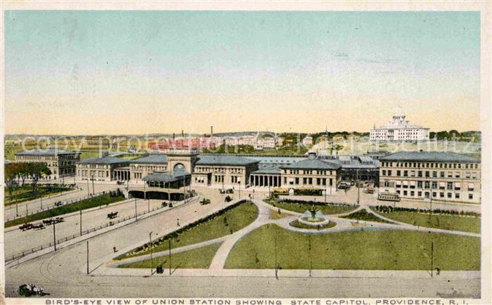 Providence Rhode Island Bahnhof Kat. Providence