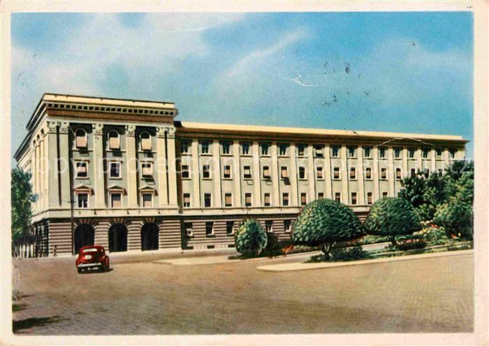 Tirana Albanien Pallati i Komitetit Qendror  Kat. Albanien