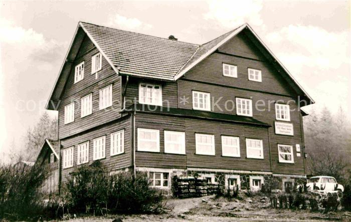 Schnellbach Floh Seligenthal Erholungsheim des VEB Minol Berlin Kat. Floh Seligenthal