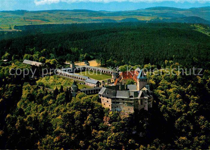Rosenburg Mold Burg Rosenburg Fliegeraufnahme Kat. Rosenburg Mold
