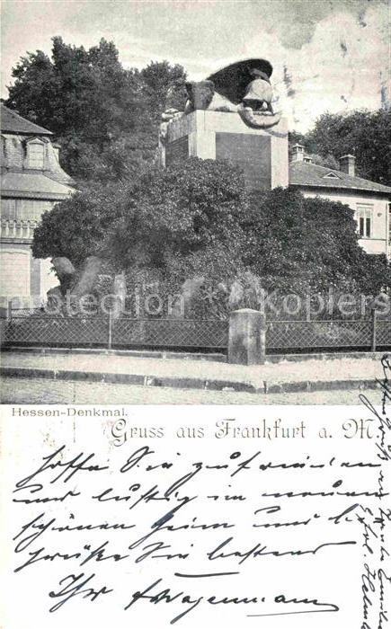 Frankfurt Main Hessen Denkmal Kat. Frankfurt am Main