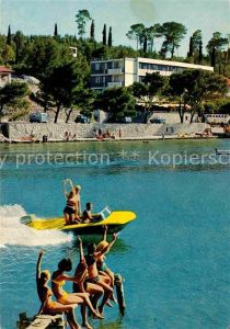 Cavtat Dalmatien Hotel Cavtat Badesteg Motorboot Kat. Kroatien
