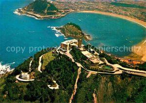 San Sebastian Guipuzcoa Hotel Monte Igueldo vista aerea
