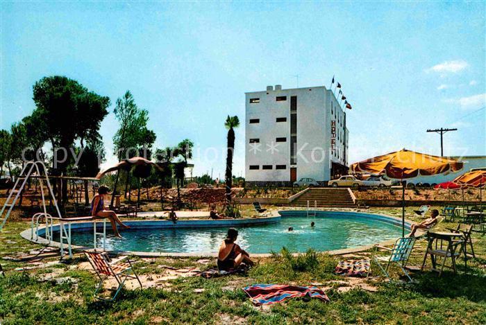 Bascara Hotel Santa Ana Piscina