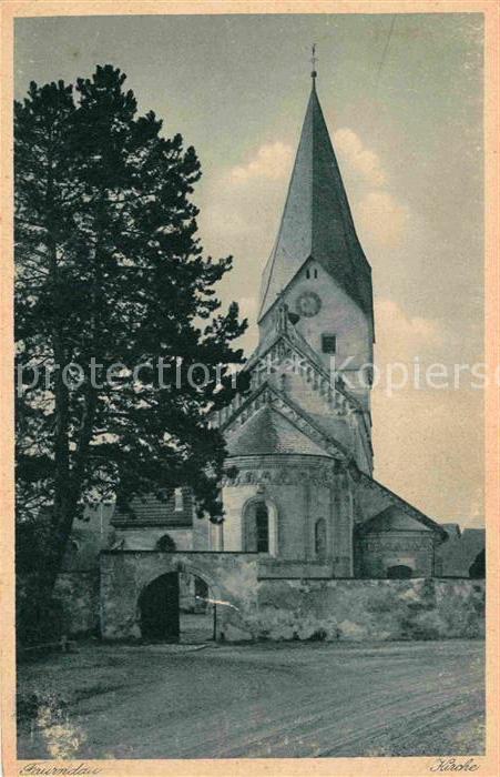 Faurndau Kirche Kat. Goeppingen