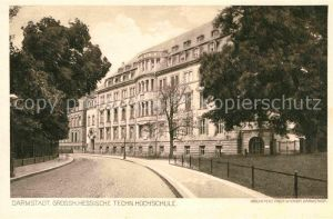 Darmstadt Hessisches Technische Hochschule Kat. Darmstadt