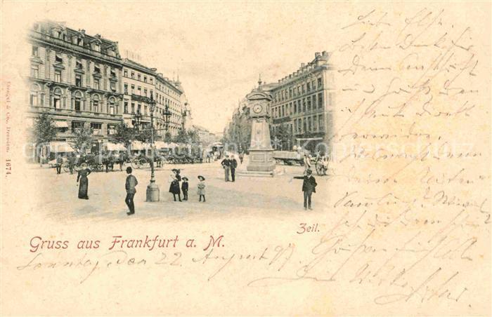 Frankfurt Main Zeil Kat. Frankfurt am Main