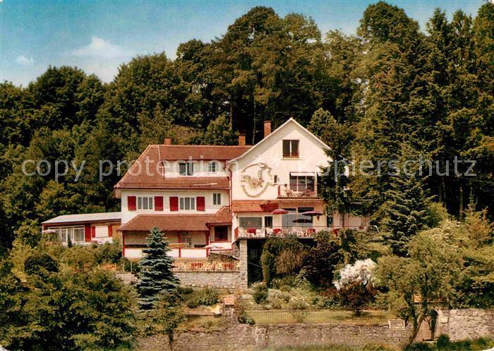 Lindenfels Odenwald Haus Luginsland Kat. Lindenfels