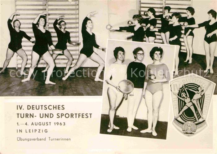 Leipzig 4. Deutsches Turn und Sportfest Kat. Leipzig