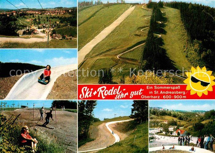 St Andreasberg Harz Ski Rodel Sesselbahn Kat. Sankt Andreasberg