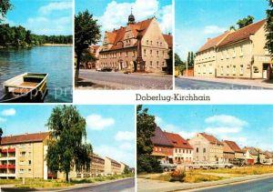 Kirchhain Doberlug Kirchhain Bad Erna Rathaus HOG Gruener Berg Bahnhofstr Hauptstr Kat. Doberlug Kirchhain
