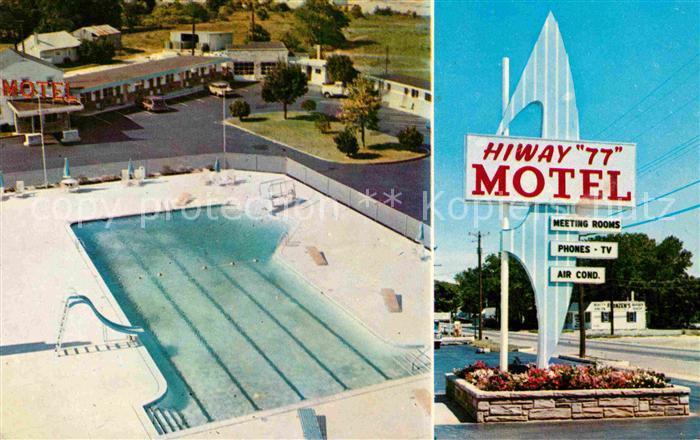 Bridgeton New Jersey Hiway 77 Motel Kat. Bridgeton