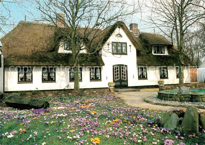 Sylt Reetdachhaus insel sylt altes reetdachhaus westerland nr kv60990 oldthing