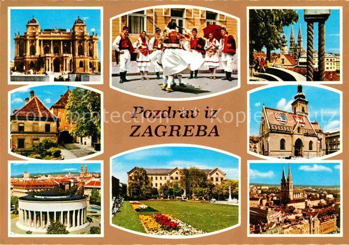 Zagreb Volkstanz  Kat. Zagreb