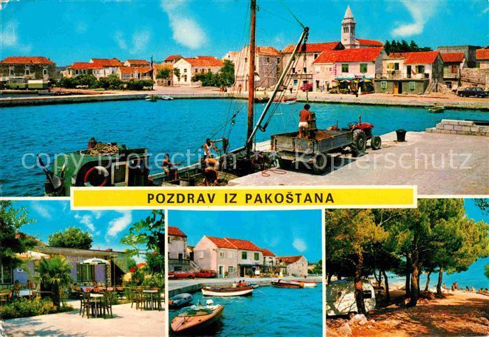 Pakostane Hafen Strand Kat. Kroatien