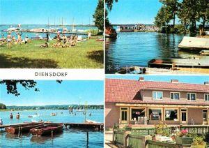 Diensdorf Radlow am Scharmuetzelsee Kat. Diensdorf Radlow