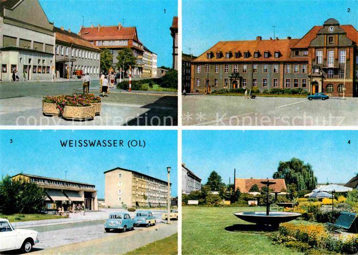 Weisswasser Oberlausitz Muskauer Strasse Rathaus Kat. Weisswasser
