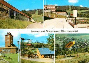Oberwiesenthal Erzgebirge Erholungsheim IG Wismut Fichtelberg Wetterwarte Kat. Oberwiesenthal
