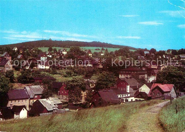 Seiffen Erzgebirge Schwartenberg Kat. Kurort Seiffen Erzgebirge