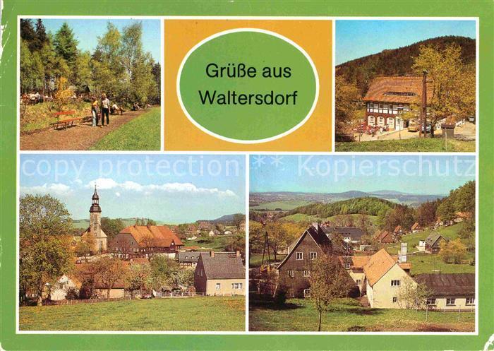 Waltersdorf Zittau Butterberg Restaurant Grenzbaude Kat. Grossschoenau Sachsen