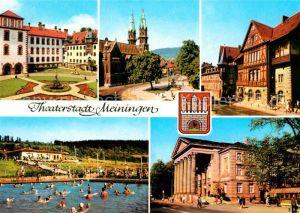 Meiningen Thueringen Schloss Theater Henneberger Haus Kat. Meiningen