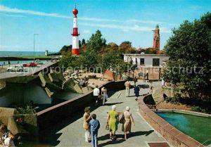 Bremerhaven Tiergrotten Leuchtturm Kat. Bremerhaven