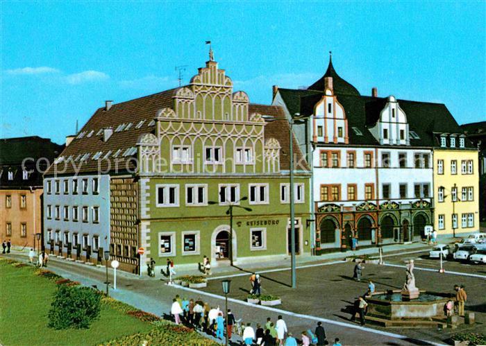 Weimar Thueringen Stadthaus und Lucas Cranach Haus Kat. Weimar