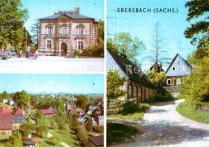 Ebersbach Sachsen Rathaus Umgebindehaus Kat. Ebersbach Sachsen