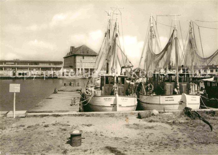 Karlshagen Fischerhafen Kat. Karlshagen Usedom