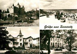 Zinnowitz Ostseebad IG Wismut Erholungsheim Klement Gottwald FDGB Erholungsheim Baltisches Haus Strand