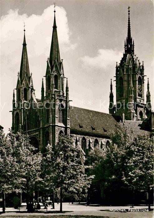 Muenchen Paulskirche Kat. Muenchen