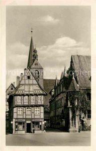 Quedlinburg Partie am Rathaus Kat. Quedlinburg