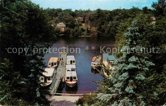 Wisconsin Dells Upper Dells Boat Dock Kat. Wisconsin Dells