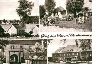 Mirow Mirow See Bahnhof Torhaus Kat. Mirow Mecklenburg