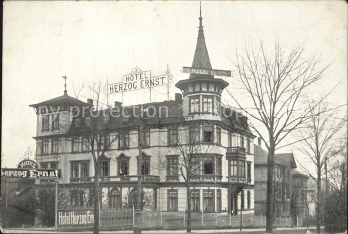 Gotha Thueringen Hotel Herzog Ernst Kat. Gotha