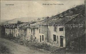 Apremont St Mihiel Fort Liouville Kat. Saint Mihiel
